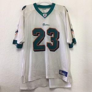 Men NFL Miami Dolphin Brown Jersey size XXL